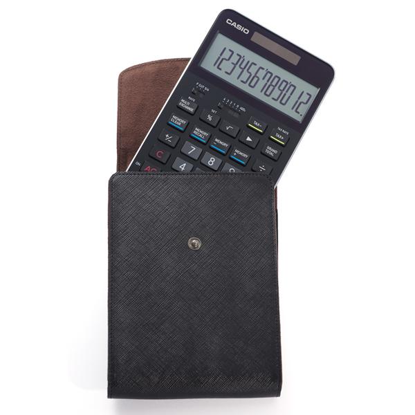 カシオ通販 カシオプレミアム電卓 s100 ブラック ケースセット