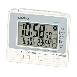 9d40689b63 カシオ公式通販】電波置き型 DQL-260J-8JF